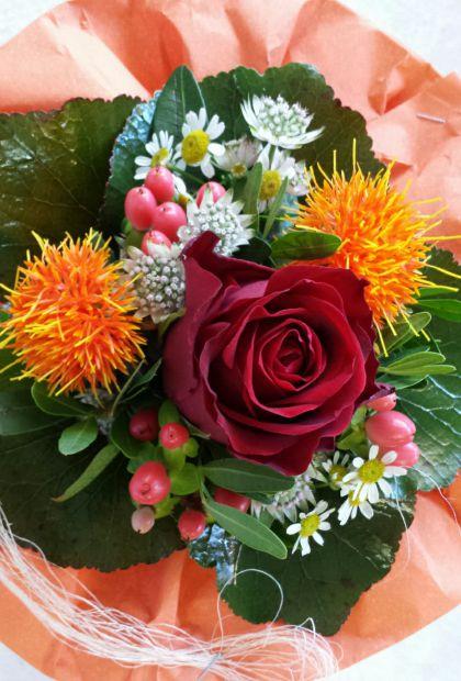 Rosenstrauß-Blumenfee-Hilden