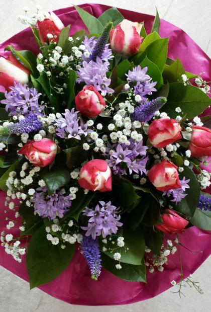 Sommerstrauß-Rosen-Blumenfee-Hilden
